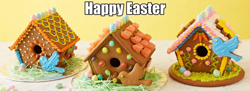 Happy Easter gingerbread-house1