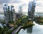 Futuristic Apartment Buildings