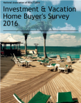 Vacation & Investment Home 2016 Survey